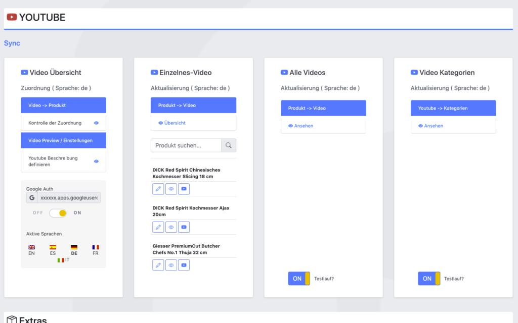 portalZINE NMN | Development meets Creativity | youtube data api