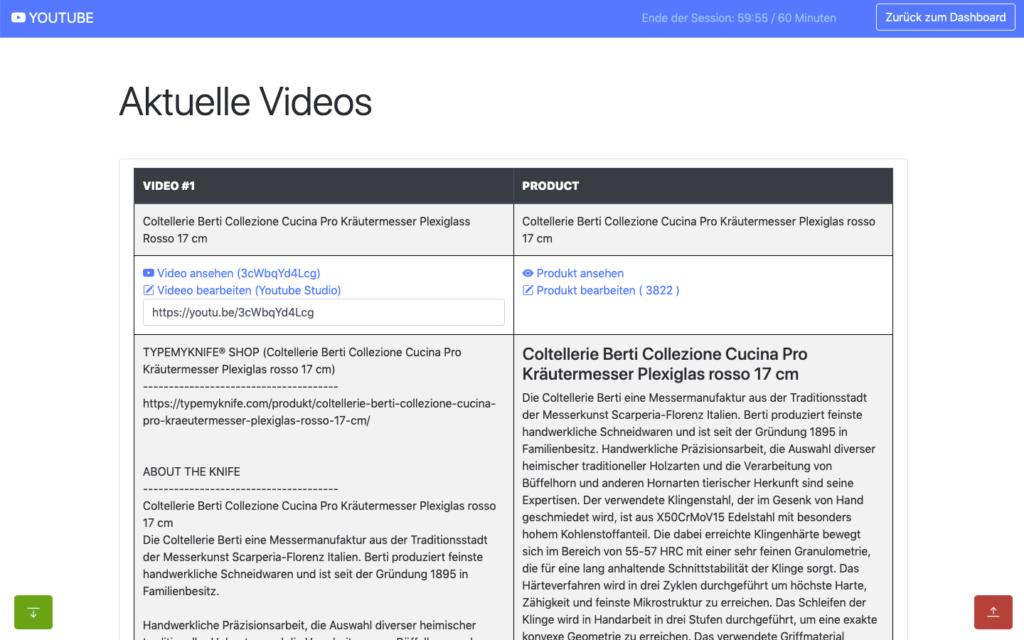 portalZINE NMN | Development meets Creativity | youtube data api list